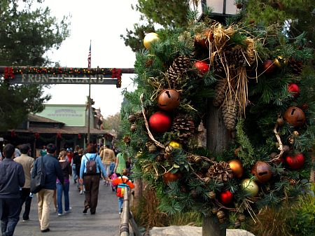 Christmas in Frontierland