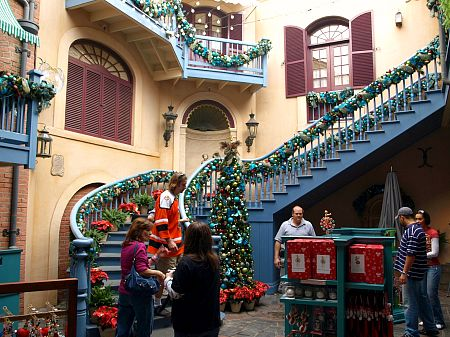 haunted mansion holiday continues to draw crowds from halloween through the new year - Disneyland Christmas Decorations