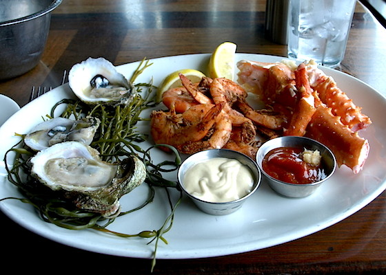Chilled Seafood Lunch Platter