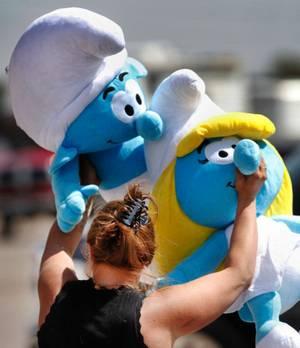 Smurf prizes