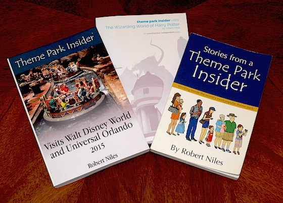 Theme Park Insider books