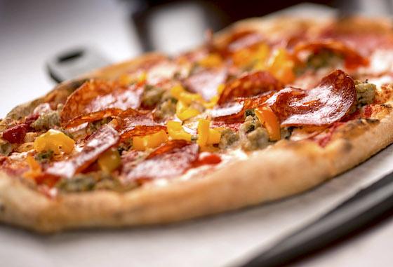 Pizza at Trattoria al Forno