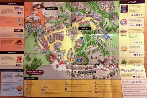 USH Map