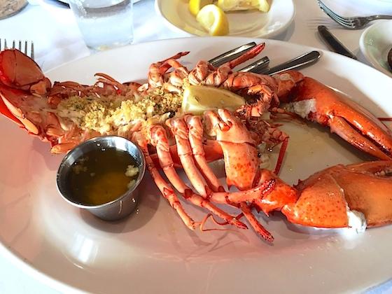 Crab Stuffed Lobster