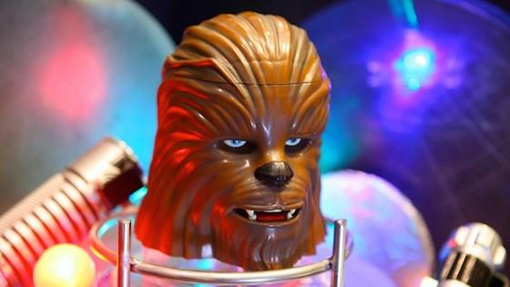 Chewbacca-head stein