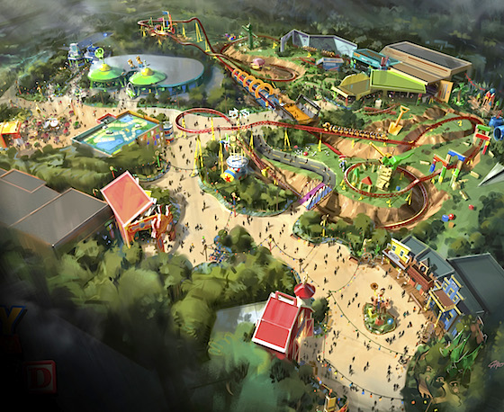 d23 toy story land
