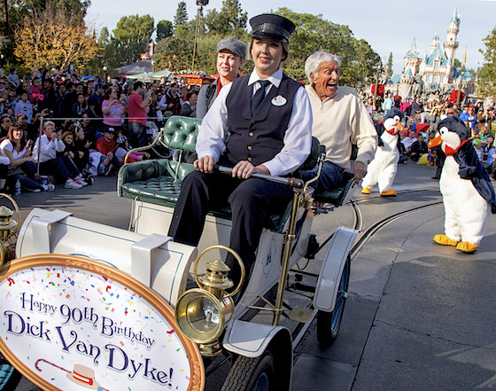 Dick Van Dyke Celebrates His 90th Birthday At Disneyland