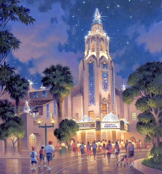 Carthay Circle concept art