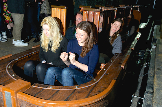 Dungeon boat ride