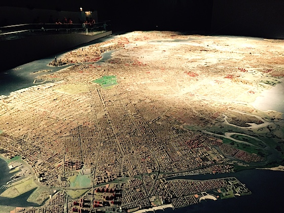 New York City diorama