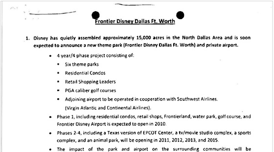 Disney Texas court documents