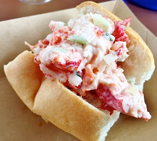 Hops and Barley's Lobster Roll