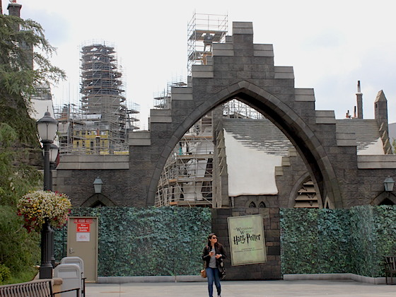 Wizarding World construction