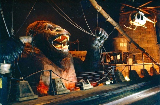 Kong encounter at Universal Studios Hollywood
