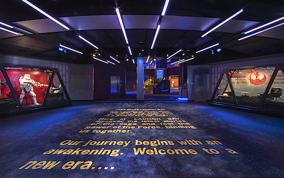 Inside the Launch Bay
