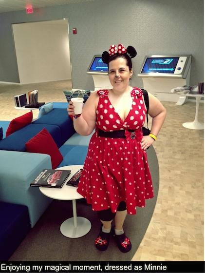 Me as Minnie