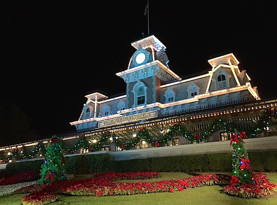 The Magic Kingdom in December