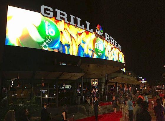 NBC Sports Grill & Brew exterior