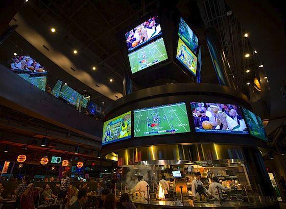 NBC Sports Grill and Brew interior