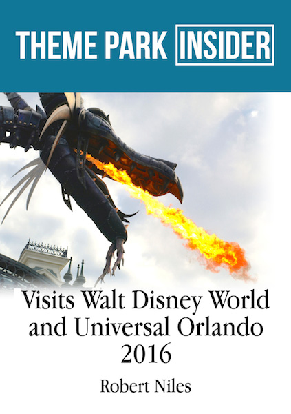 Theme Park Insider Visits Walt Disney World and Universal Orlando - 2016
