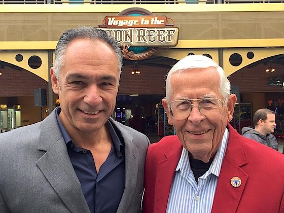 Raffi Kaprelyan and Bob Gurr
