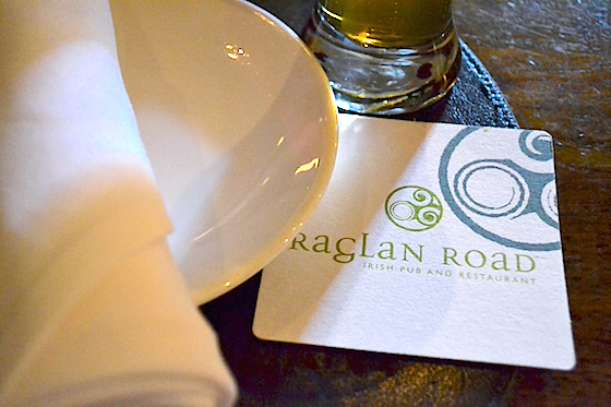 Raglan Road table