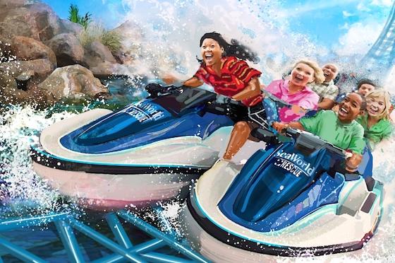 SeaWorld Rescue coaster concept