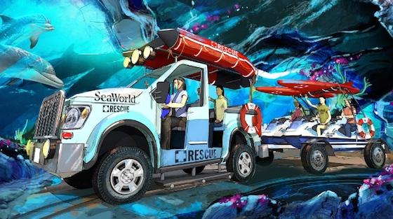 New SeaWorld San Diego ride