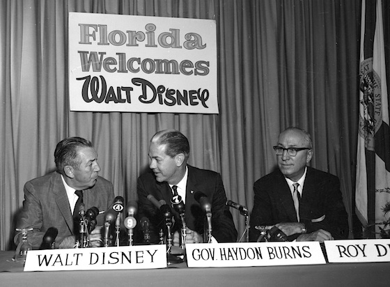 Announcing Disneyworld