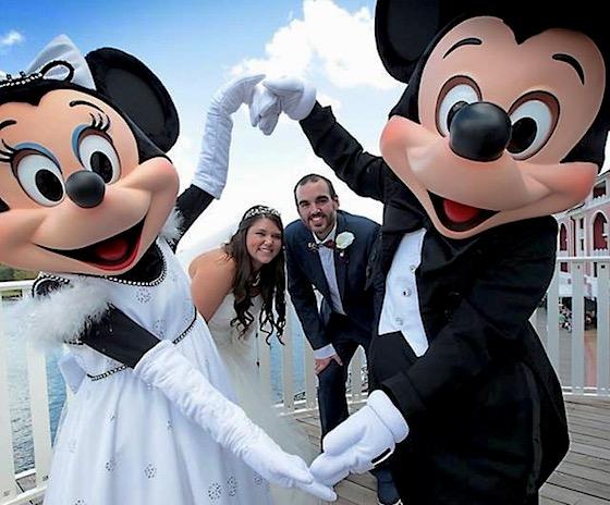 Where did walt disney get married