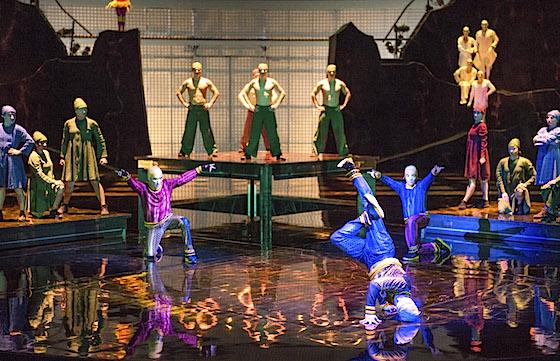 Cirque du Soleil B-Boy act