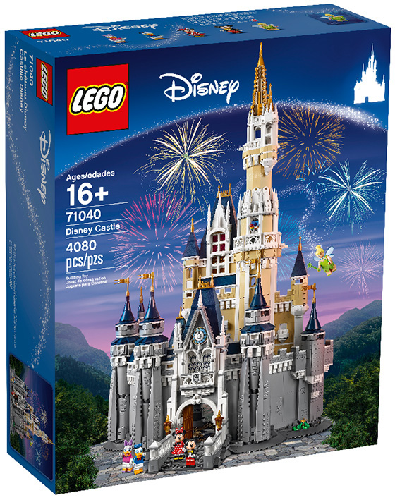 Lego Disney castle box
