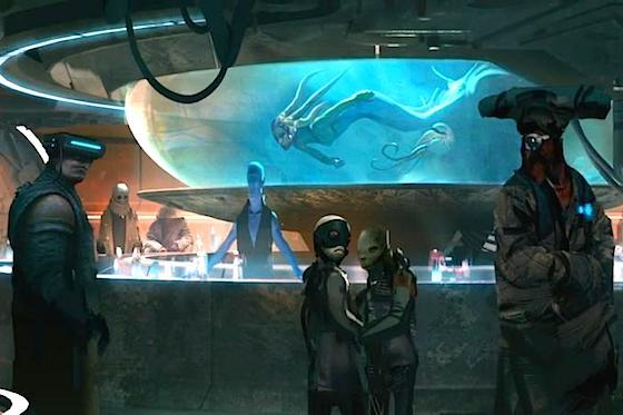 Star Wars Land Cantina