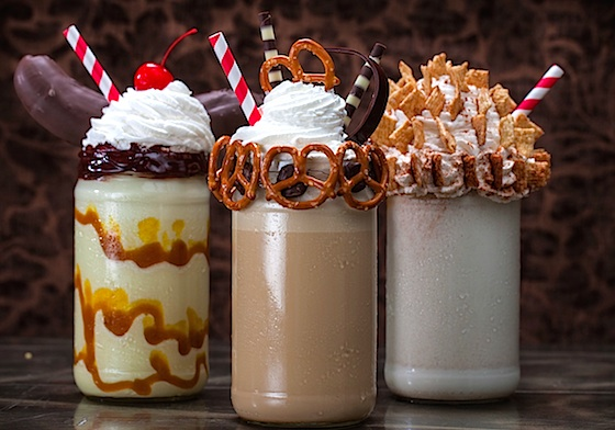 Toothsome Chocolate Emporium and Savory Feast Kitchen milkshakes