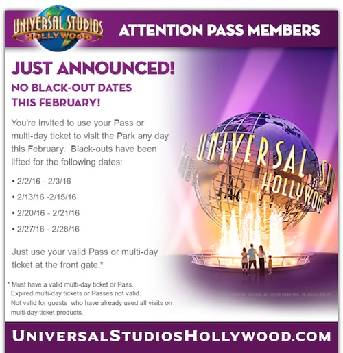 Universal's email announcement