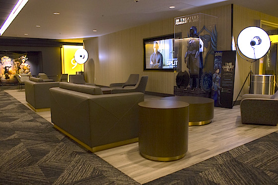 CityWalk movie theater lounge