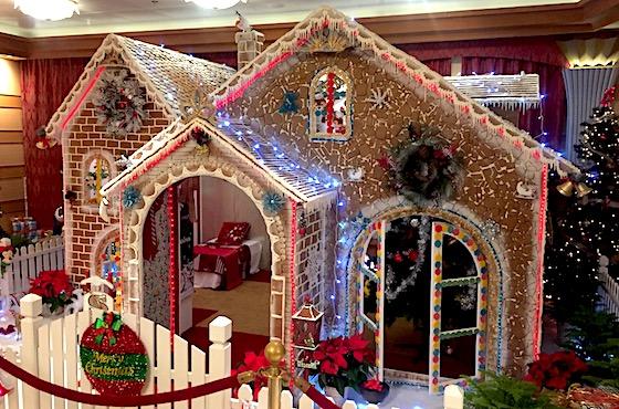 Disney Dream Gingerbread House