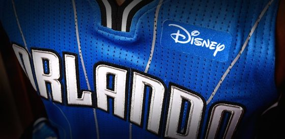 Orlando Magic Disney jersey