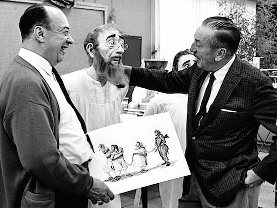 Marc Davis and Walt Disney