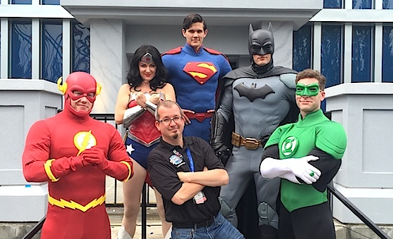 Rich Hill and the Justice League