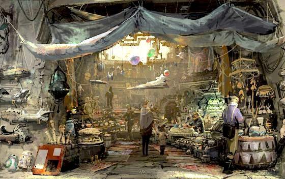 Batuu marketplace