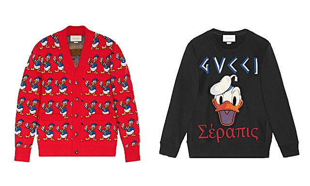 Gucci Donald Duck