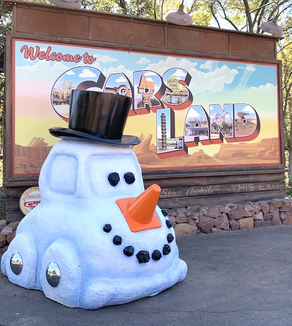 Christmas in Cars Land