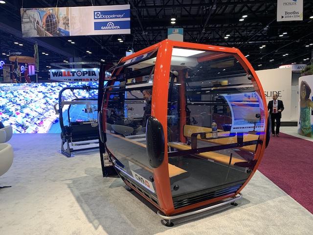 Doppelmayr gondola at IAAPA