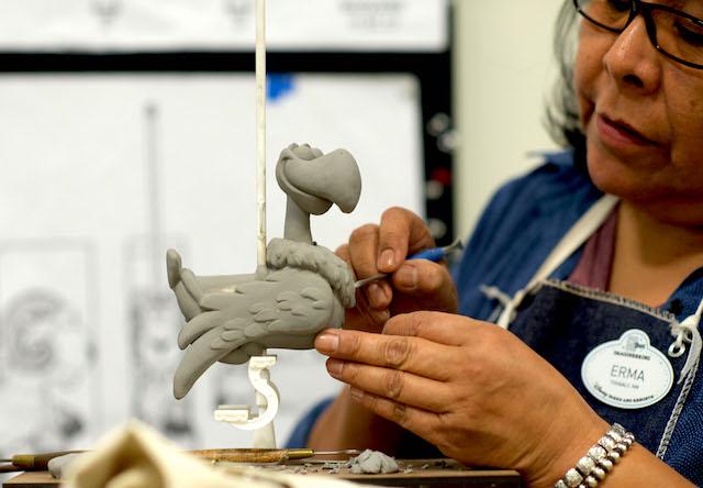 Sculpting maquettes