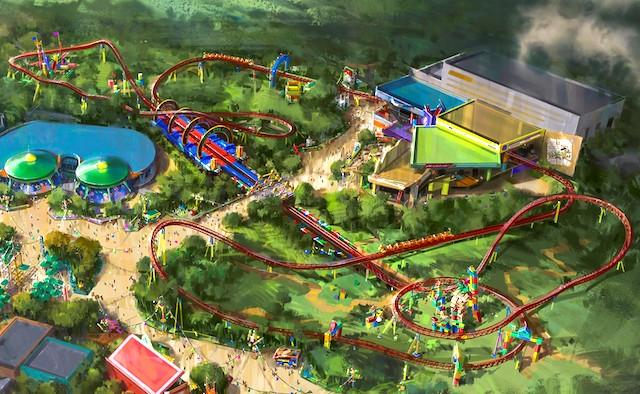 Slinky Dog Dash track