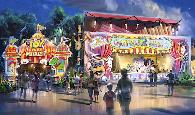 Toy Story Mania's new entrance