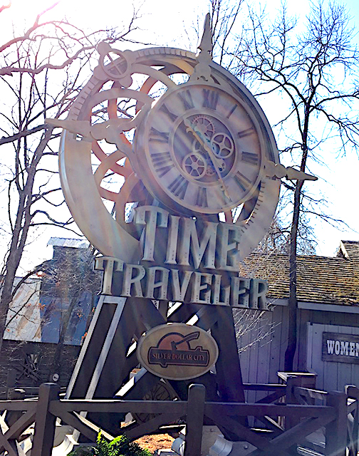 Time Traveler entrance