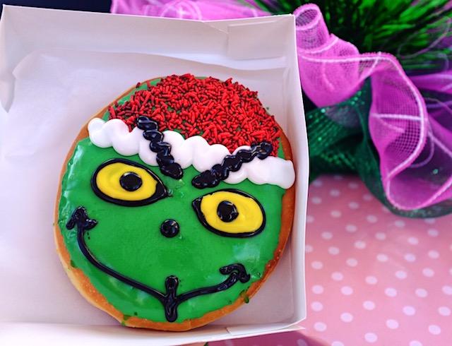 Grinch Donut