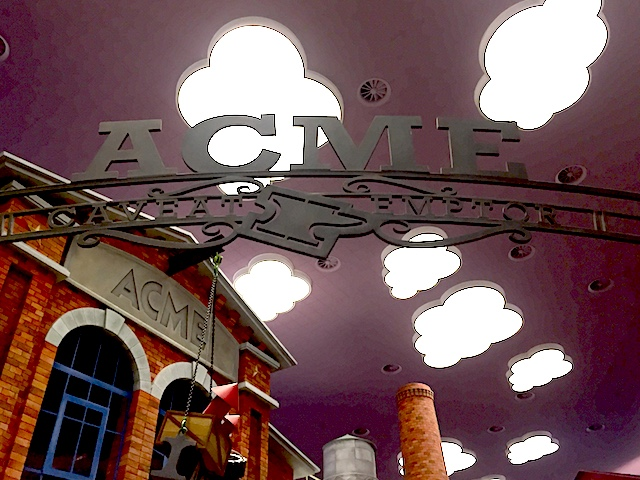 Acme factory gate